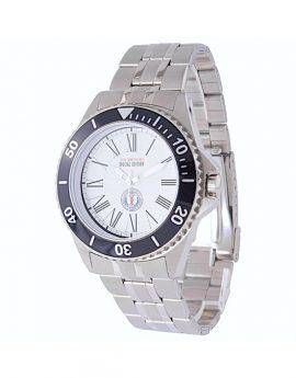 WAMS Men's Stainless Steel Bracelet Watch White 1