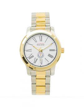 WAMS Unisex Oversized Two-Tone Bracelet Watch C 2